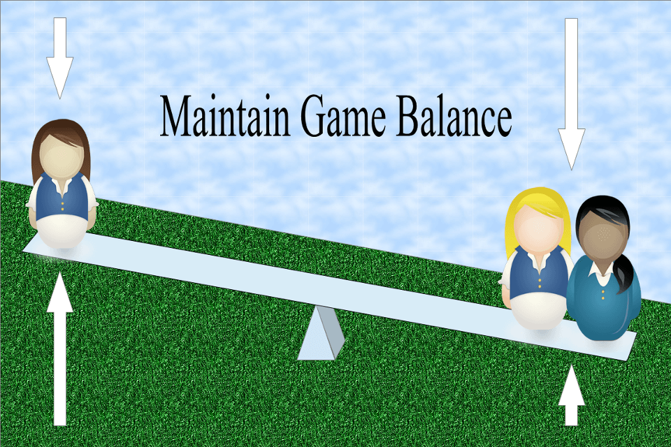 Maintaining Game Balance for a Variable Number of Players